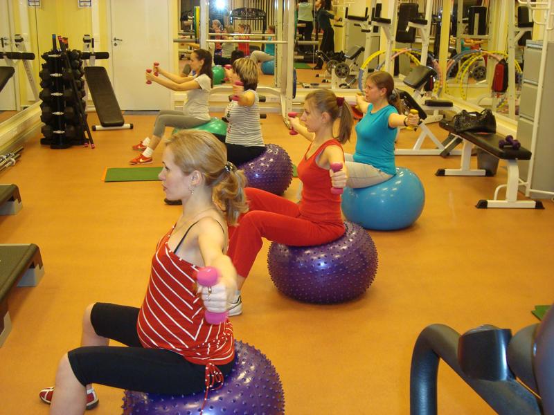 В тренажерном зале часть 1 фитнес